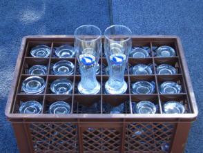 Weißbierglas 0,5 Liter